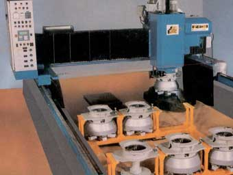 Bridge polishing machines