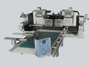 Cross cutting machines