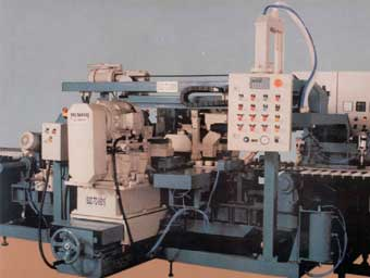 Squaring and chamfering machines